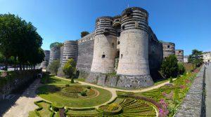 Chateau du Roi René, Angers, France